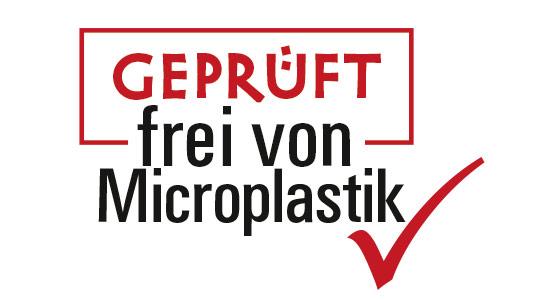Geprüft fei von Microplastik
