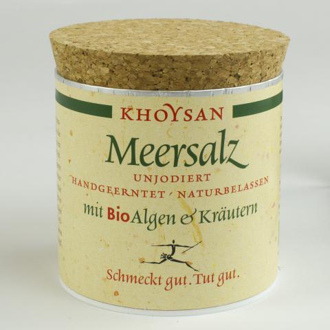 Meersalz mit BioAlgen & Kräutern
